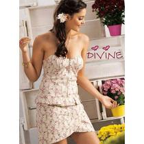 Vestido Divine - Tomara Que Caia - C/bojo - Floral