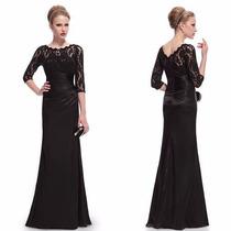Elegante Vestido De Festa Ever-pretty! Importado!!