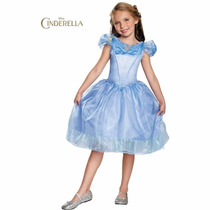 Fantasia Princesa Cinderela Original Disney Disguise Tam 3-4