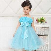 Vestido De Criança Festa Princesa Casamento Aniversário