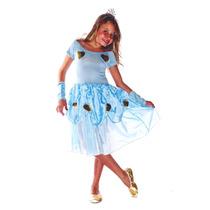 Fantasia Princesa Cinderela Pronta Entrega