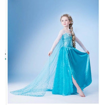 Fantasia Elsa Frozen Princesa - Pronta Entrega