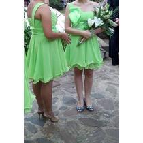 Vestido Verde De Musseline