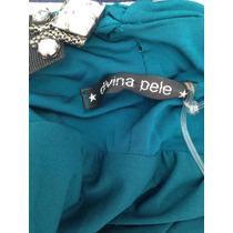 Vestido Divina Pele Decote Costas Novo C/etiqueta Tam 38/40