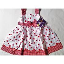 Vestido Infantil Feminino, 1 Ano E 6 Meses Blueberi Boulevar