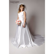 Vestido De Noiva E Dama + Luva Pronta Entrega Partylight