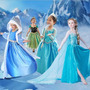 Fantasia Vestido Frozen Elsa - Pronta Entrega - Frete Grátis