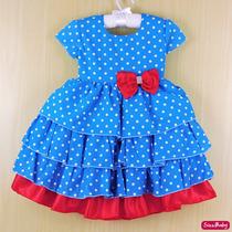 Vestido Galinha Pintadinha Festa Infantil Com Faixinha