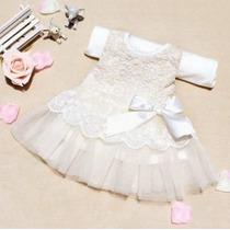 Vestido Infantil Princesa Festa Bebê Criança Pronta Entrega