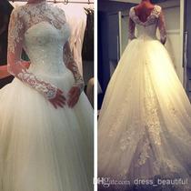 Vestido De Noiva - Lindo - Promoção