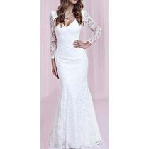 Leve 2 Lindos Vestidos Balada Casamento Renda P,festa Noite