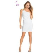 Vestido Branco Renda Paetê Festa Plus Size P Gg Xxg Ombro Só