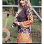 Vestido Boneca Russa Bichinhos Matrioskas Estilo Farm Antix