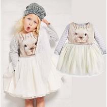 Vestido Infantil Inverno Frete Grátis Importado Menina