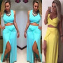 Vestido Rodado Panicat Roupas Femininas Verão Atacado Saia