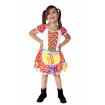 Vestido Festa Junina,roupa,caipira,junino,fantasia Infantil