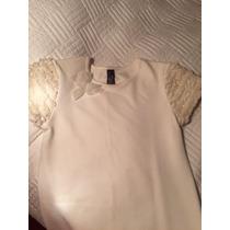 Vestido Infantil Off White Da Marca Zara