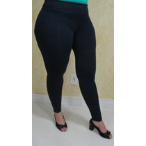 Calça Legging Viscolaycra Fitness E Casual