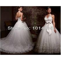Lindo Vestido De Noiva Princesa