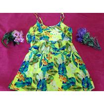 Lindo Modelo De Vestido Floral Com Detalhe Renda E Zíperzipe