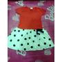 Vestido Infantil De Bolinhas Cartel Kids Tamanho 2