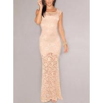 Vestido Feminino Renda Importado Longo Sereia/casamento