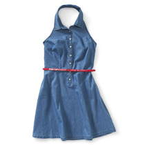 Aeropostale Belted Mulheres Chambray Caicai