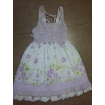 Vestido De Festa Florido Infantil