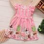 Vestido Festa Infantil Menina Importado 6/7 Anos