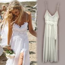 Vestido Noiva Praia Importado Frete Único 29,00