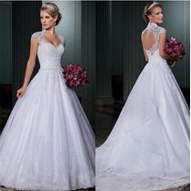 Vestido De Noiva Importado Pronta Entrega