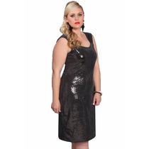Vestido Plus Size Feminino Festa Elegante Entrega Imediata