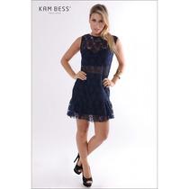 Vestido De Renda - Kam Bess - Ve0352