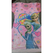 Vestido Infantil Frozen 6 A 9 Anos