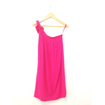 Vestido Um Ombro Só Pink Forum