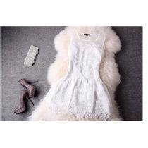 Lindo Vestido Vintage De Renda Festa Casamento Formatura