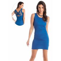 Vestido Curto Mini Onça Cores Salto Charme Pronta Entrega