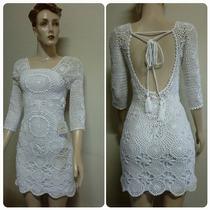 Vestido De Croche Varias Cores E Modelos