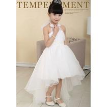 Vestido Infantil Princesa Festa Casamento Noivinha Daminha