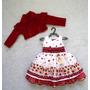 Vestido Moranguinho Com Blusinha - Bambina Fashion