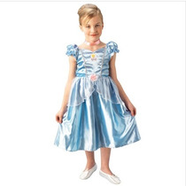 Fantasia Infantil Festa Princesa Cinderela Clássica Arrase