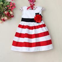 Vestido Infantil Menina - 6 A 7 Anos