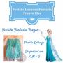 Vestido Fantasia Luxuoso Frozen Elsa/ Anna - Pronta Entrega