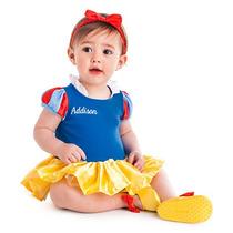 Fantasia Original Baby Disney Branca De Neve Para Bebes