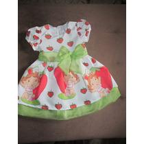 Vestido Infantil Moranguinho