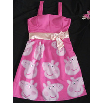 Vestido Mae Peppa Pig Rosa