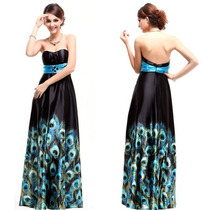 Maravilhoso Vestido Festa Formatura Aniversario Preto Azul