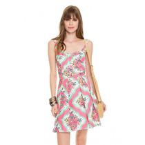 Lindo Vestido Dress To Estampa Souvenir Tam P Novo