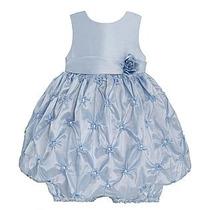Vestido Infantil De Festa Rômantico Azul