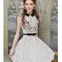 Vestido Moda Barbie -vintage Print Retro Pronto Entrega!